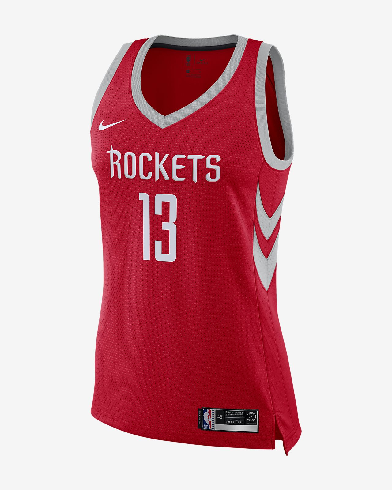 James Harden Icon Edition Swingman (Houston Rockets) Women's Nike NBA Connected Jersey