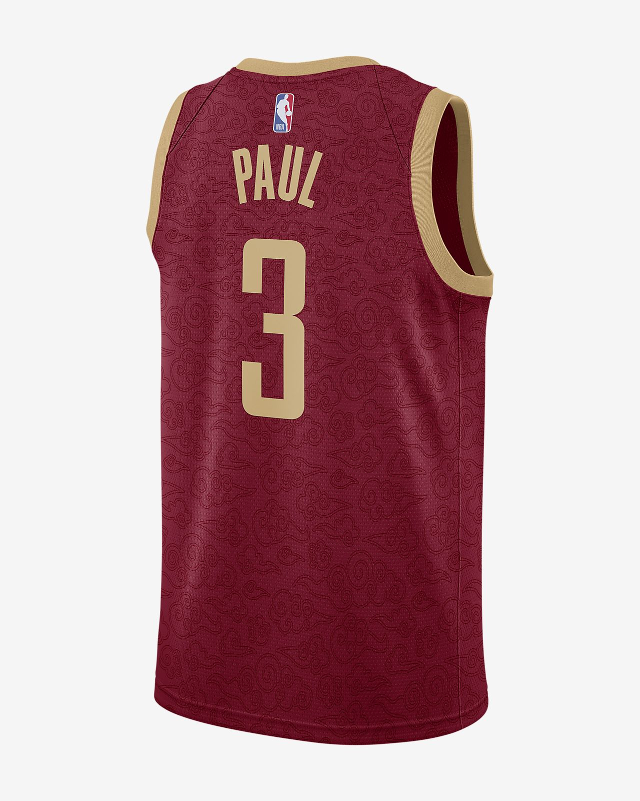 outlet store 2620d 13a67 Chris Paul City Edition Swingman (Houston Rockets) Men's Nike NBA Connected  Jersey