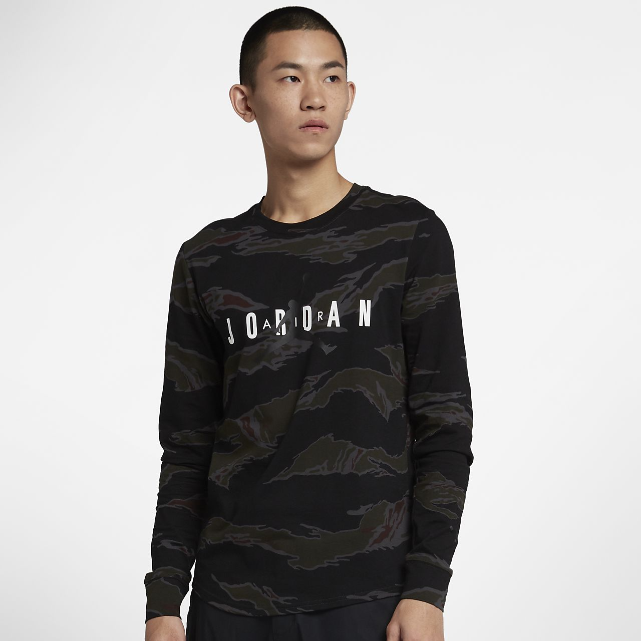 ede7faa96908 Jordan Sportswear Tech Men s Graphic Long-Sleeve T-Shirt. Nike.com IN