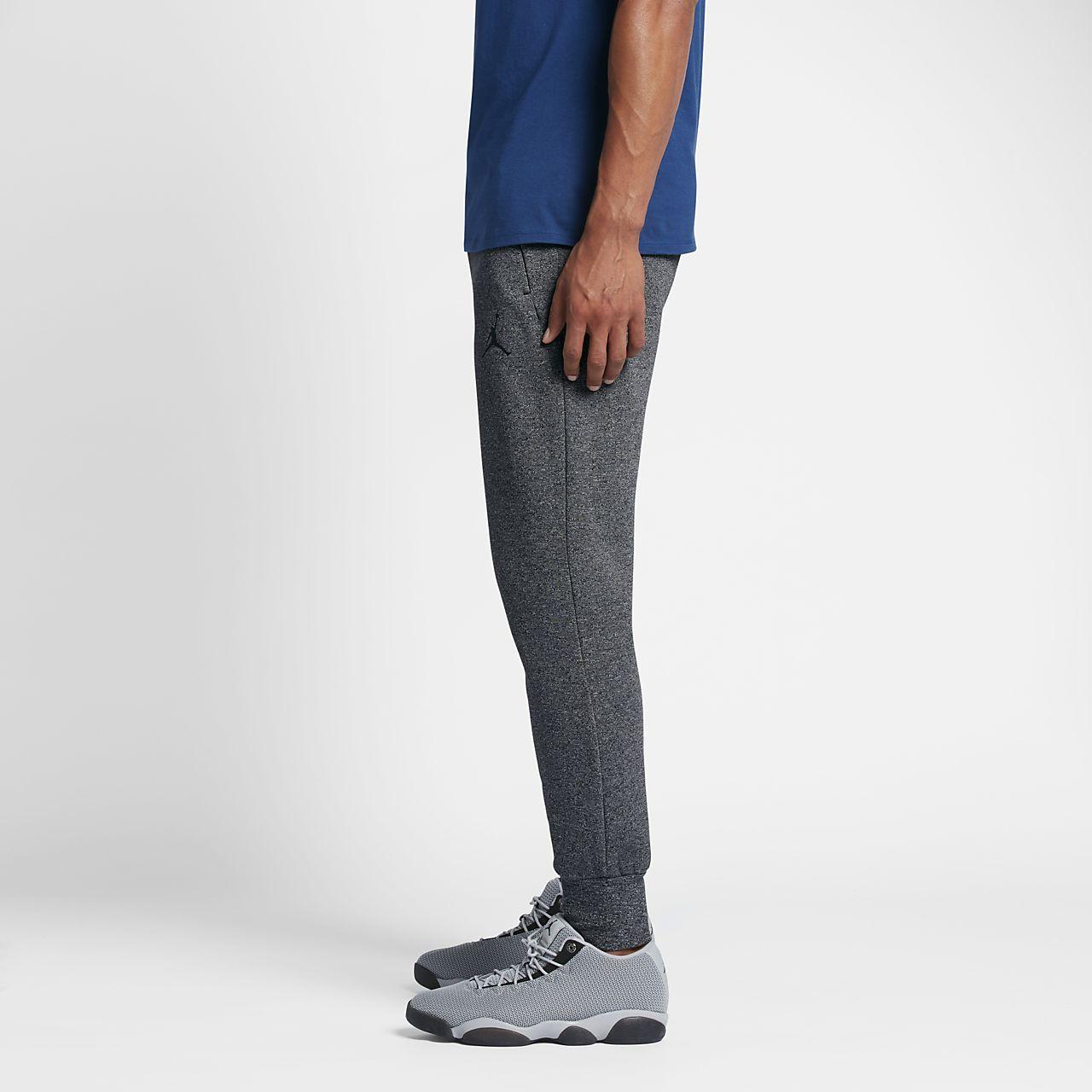 ca65b54490bd Jordan Icon Fleece Cuffed Men s Sweatpants. Nike.com BG