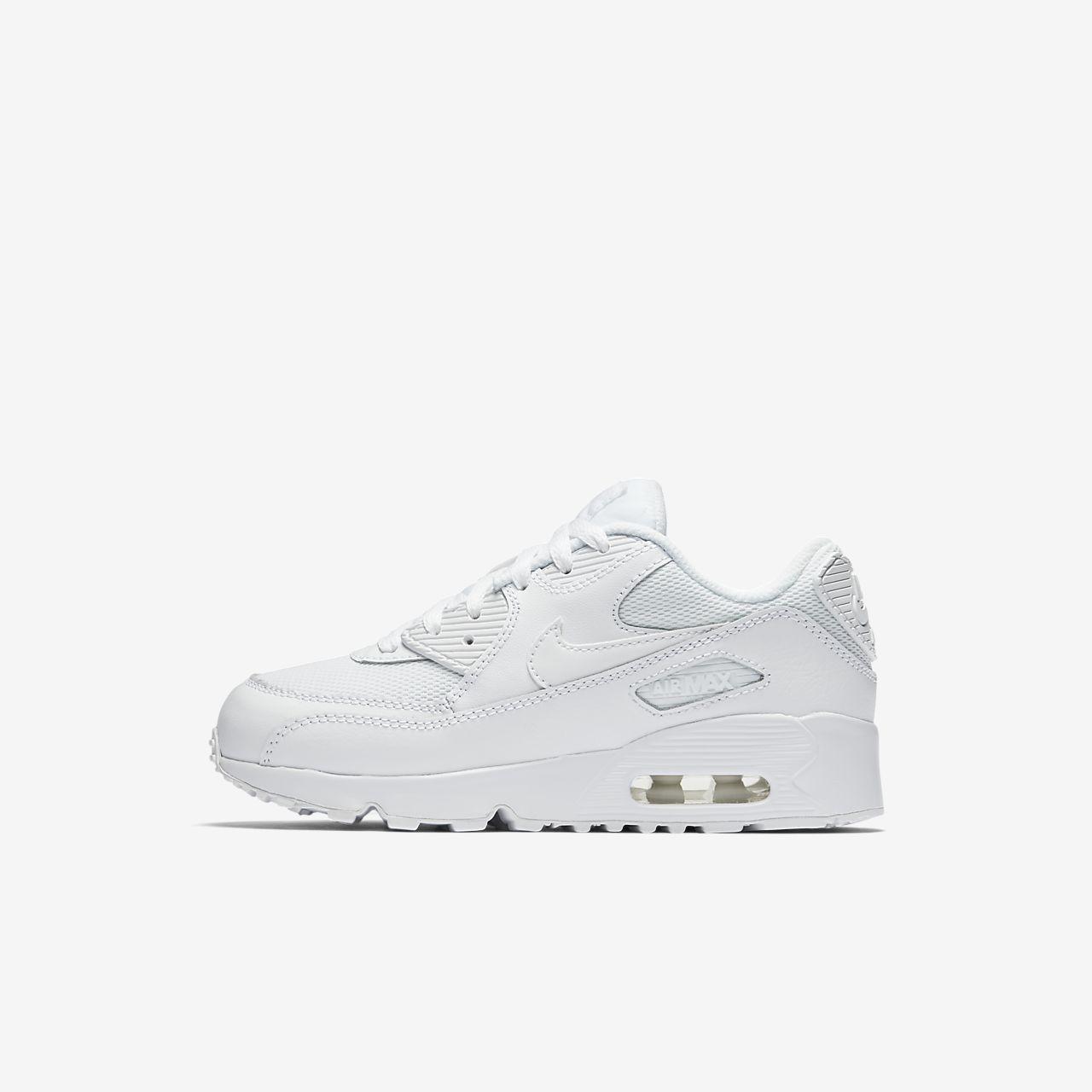 Nike Air Max 90 Mesh 1025 Younger Kids Shoe
