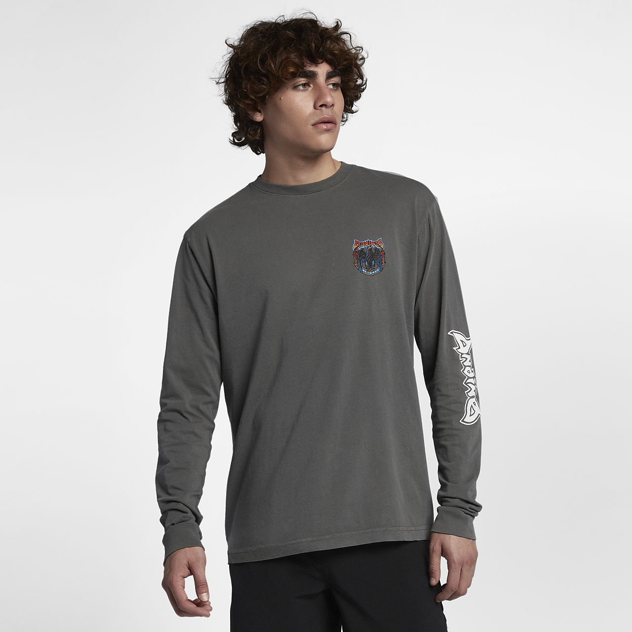 Hurley Team Andino T shirt met lange mouwen voor heren
