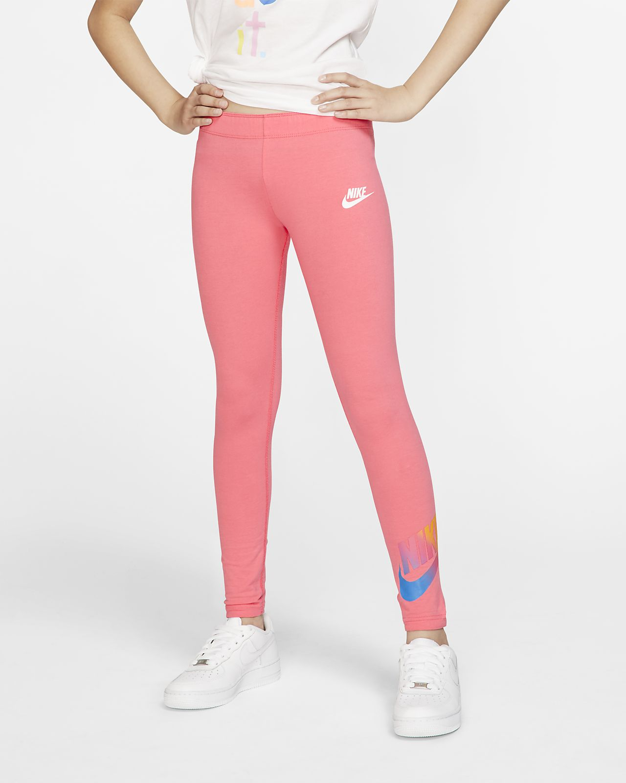 Nike Sportswear 大童(女孩)紧身裤