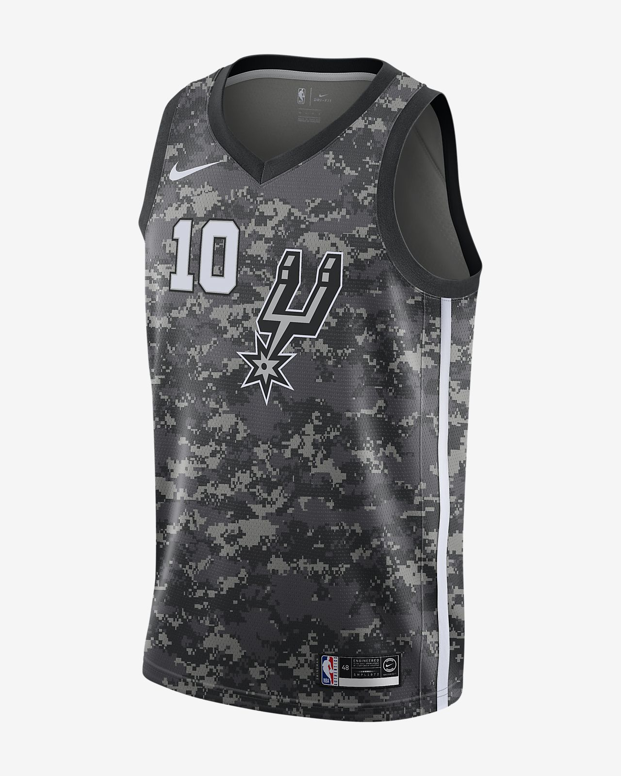 cd0fa39f236 DeMar DeRozan City Edition Swingman (San Antonio Spurs) Men s Nike ...
