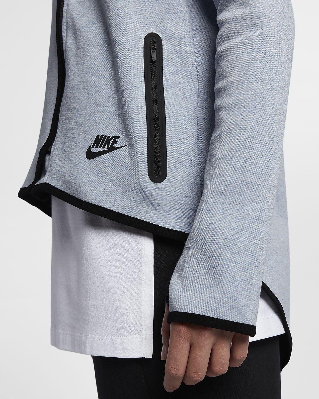 nike womens clothing dillards; nike sportswear tech fleece womens full zip  cape