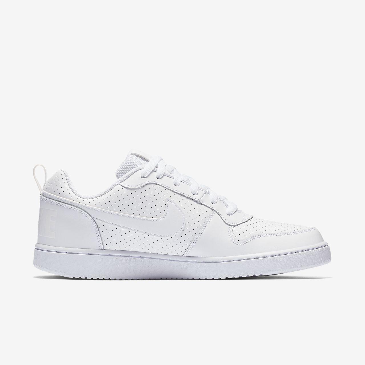 Zapatos grises Nike Court Borough Low para hombre 2sflIQNfL