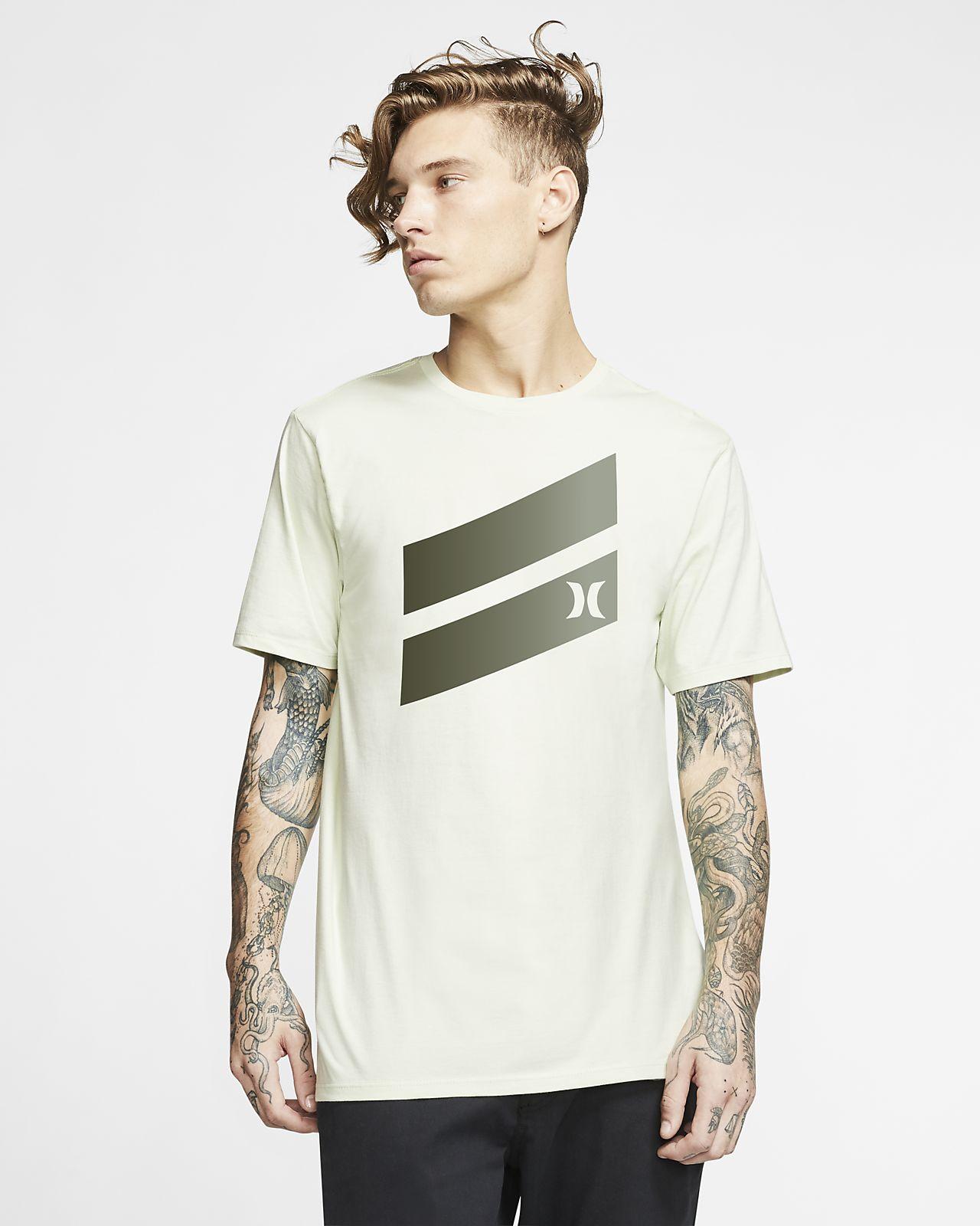 T-shirt Premium Fit Hurley Premium Icon Slash Gradient - Uomo