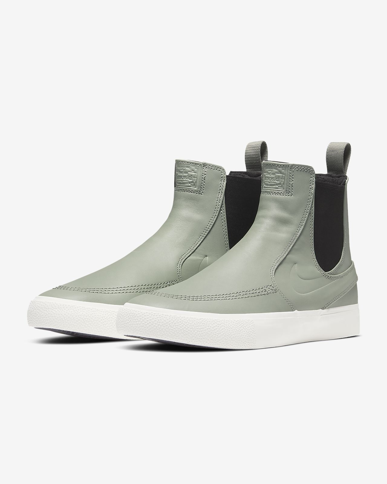 Nike SB Zoom Stefan Janoski Slip Mid RM Schuh (black pale ivory)