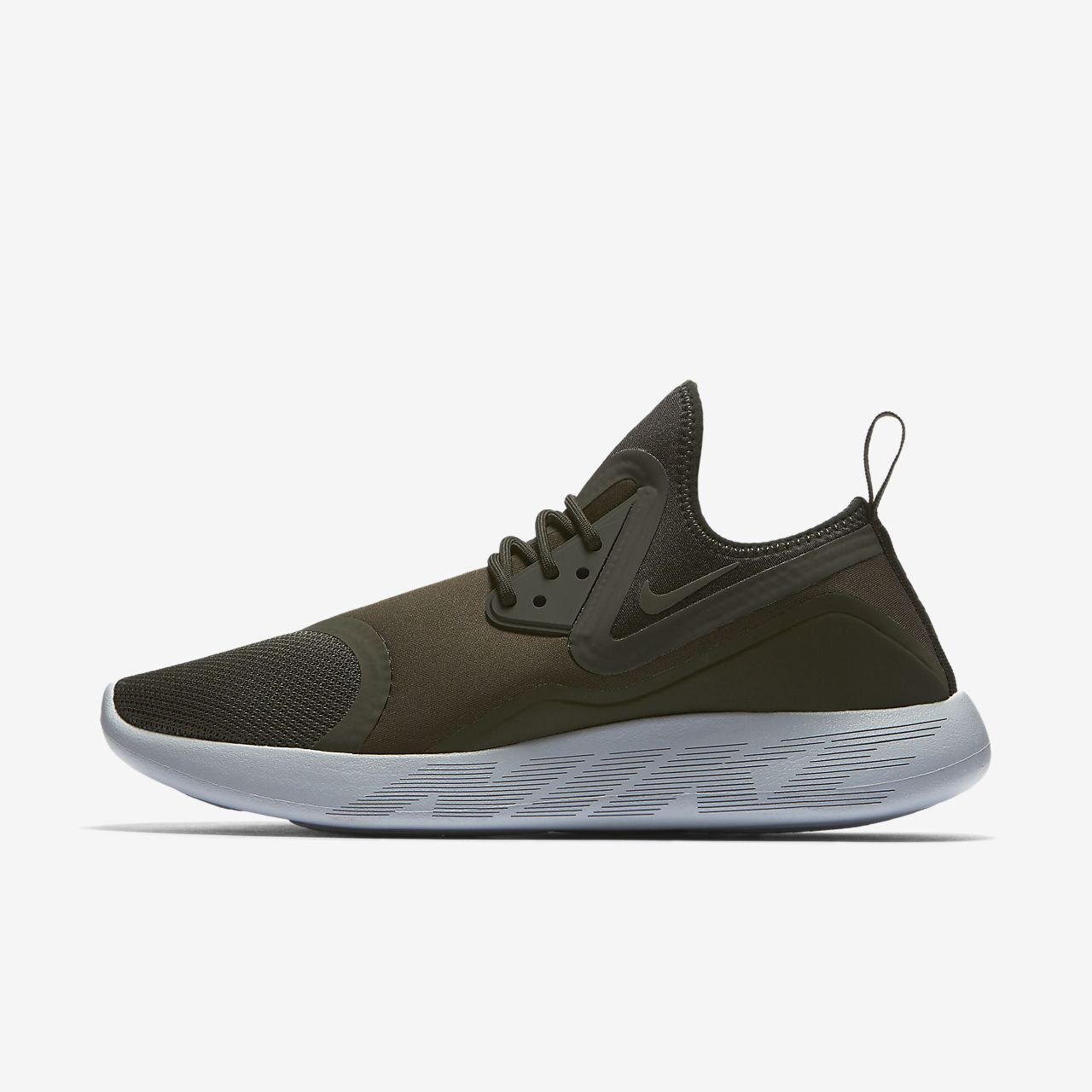 NIKE lunarcharge Baskets pour homme Chaussures de sport kaki Nouveau TOP vM1oOJP