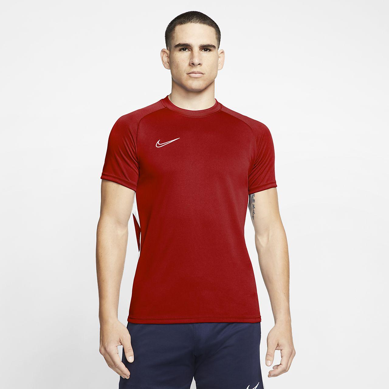 Nike Dri-FIT Academy-kortærmet fodboldtop til mænd
