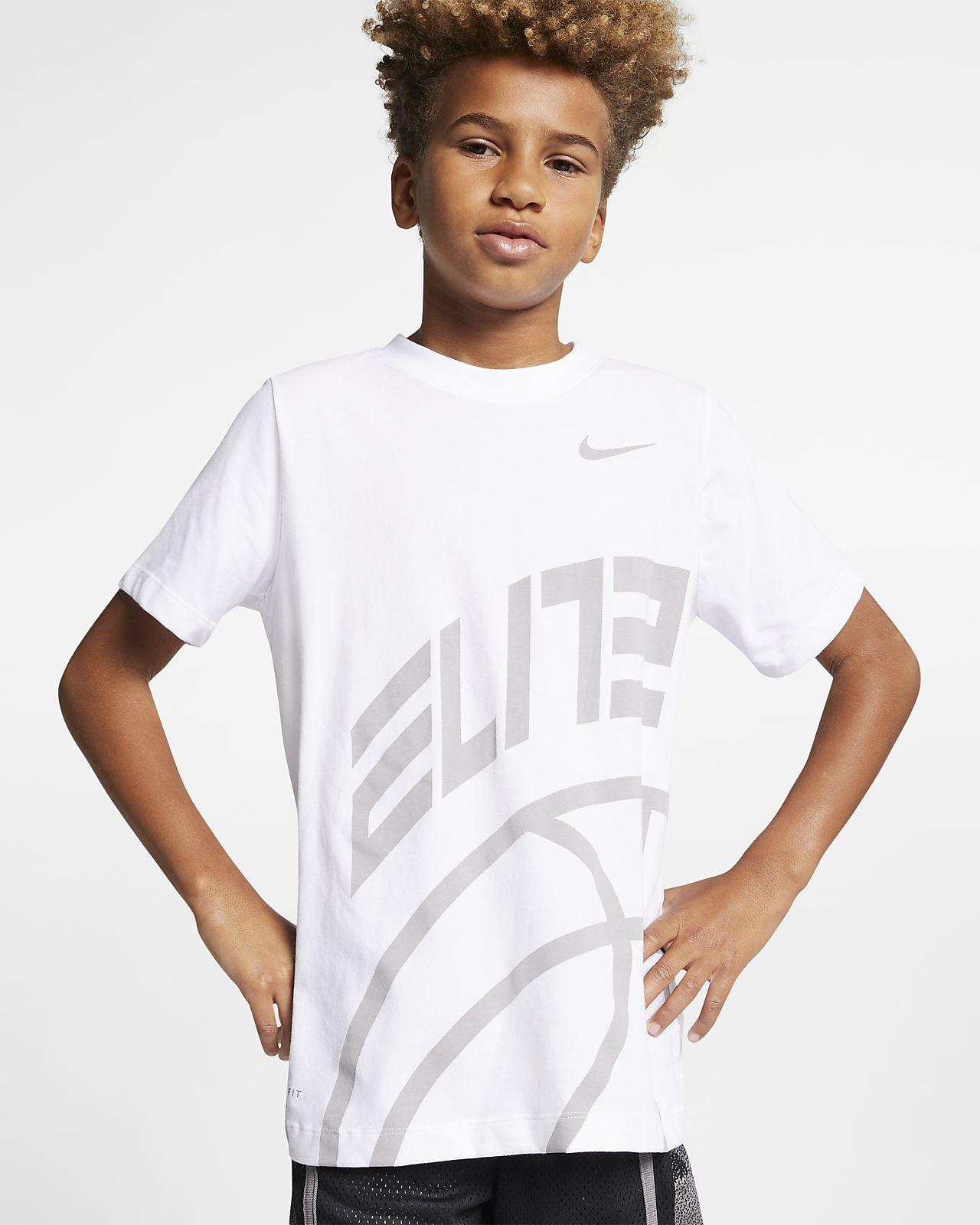 Nike Dri-FIT Elite Big Kids' (Boys') Basketball T-Shirt