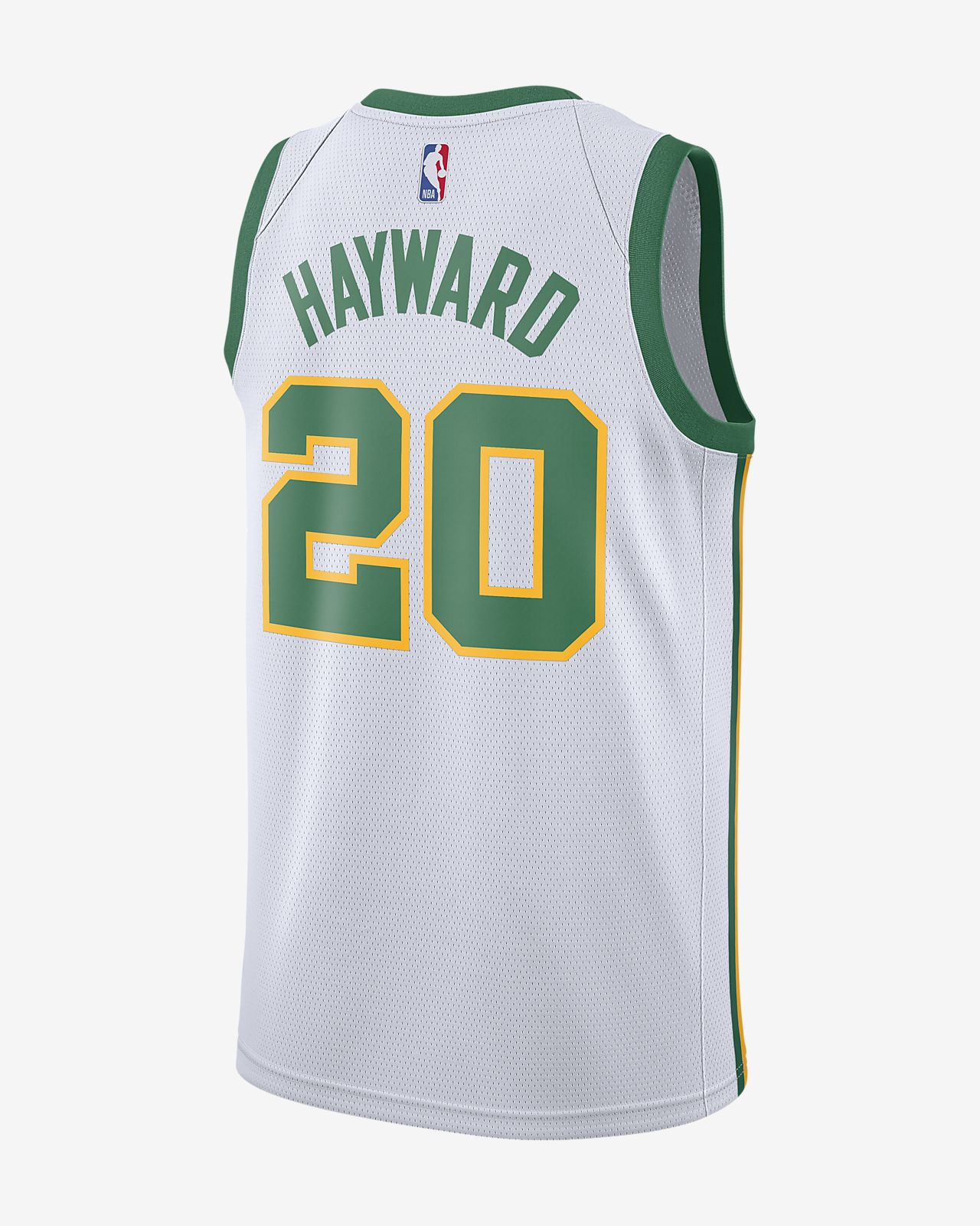 ... Gordon Hayward City Edition Swingman (Boston Celtics) Men s Nike NBA  Connected Jersey 77c25f0cf