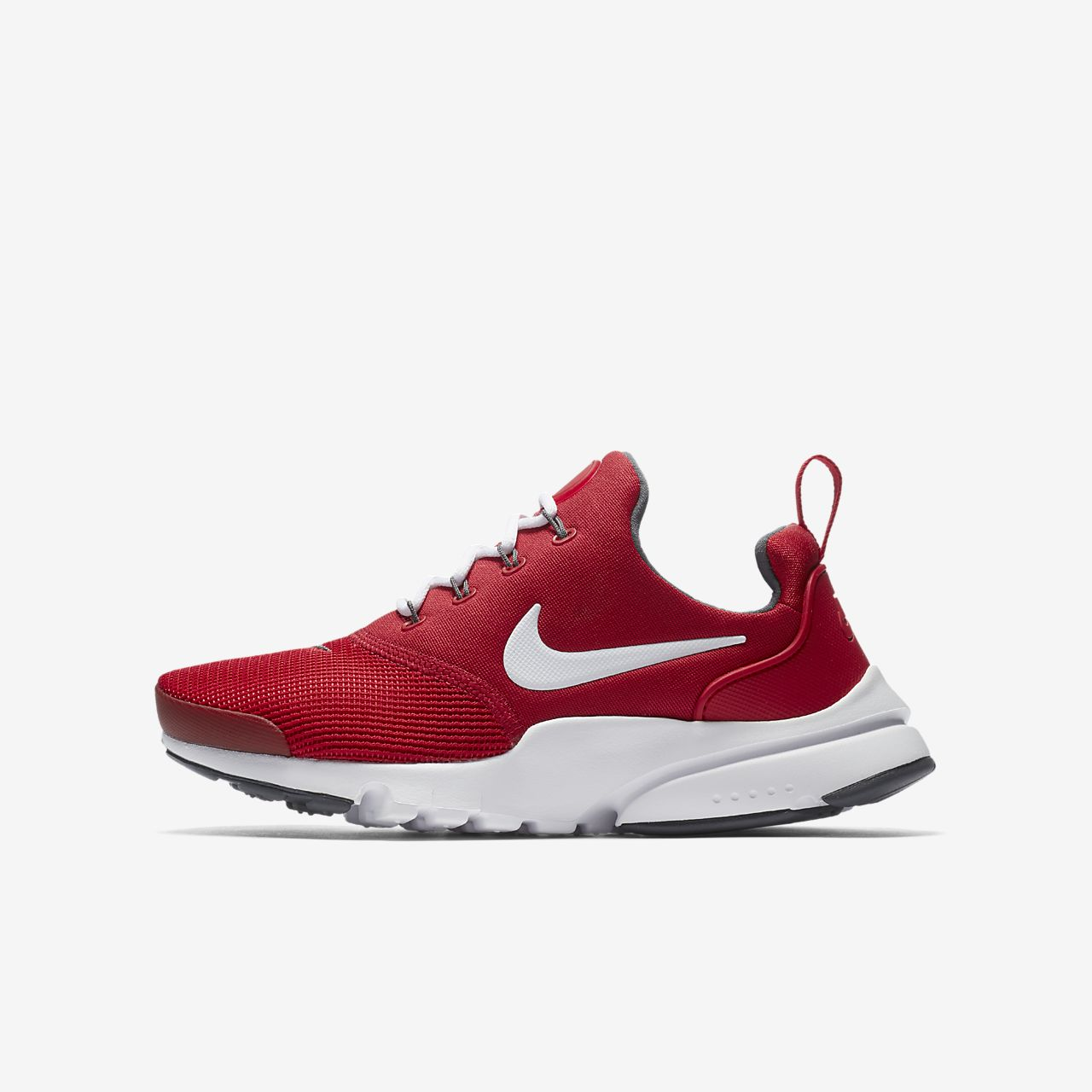 Nike Presto Fly  - Boy Sneakers - Red/White/Grey