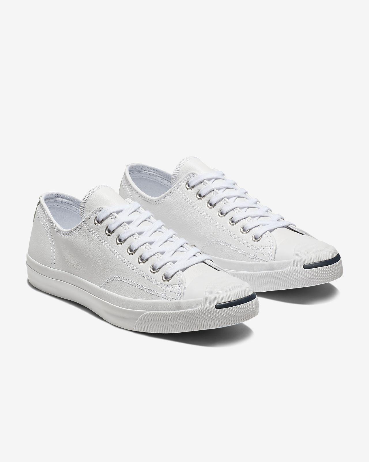 0fda995ff7d8 ... good converse jack purcell tumbled leather low top unisex shoe 6e3e5  f104c