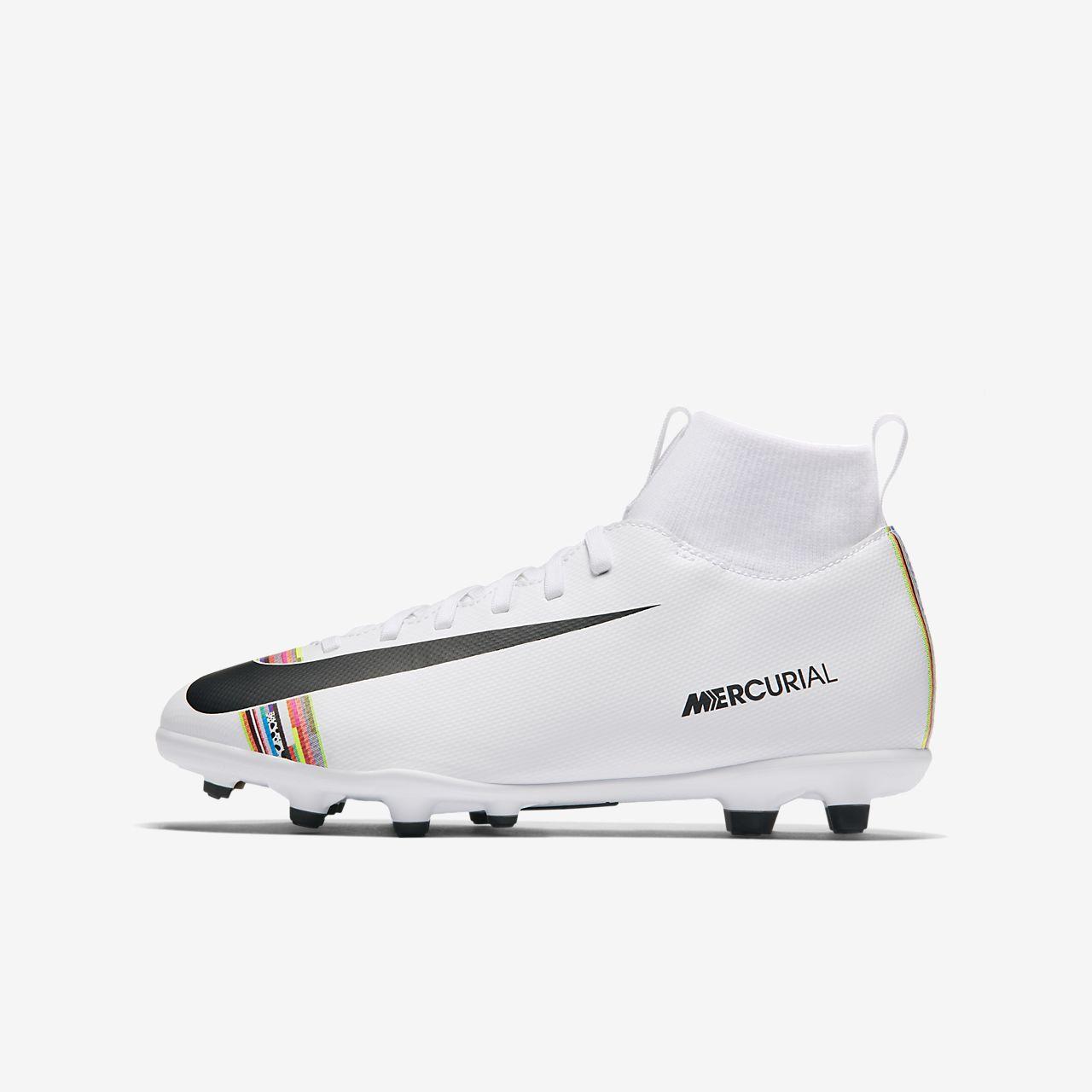 Nike Jr. Superfly 6 Club MG-fodboldstøvle til flere typer underlag til små/store børn