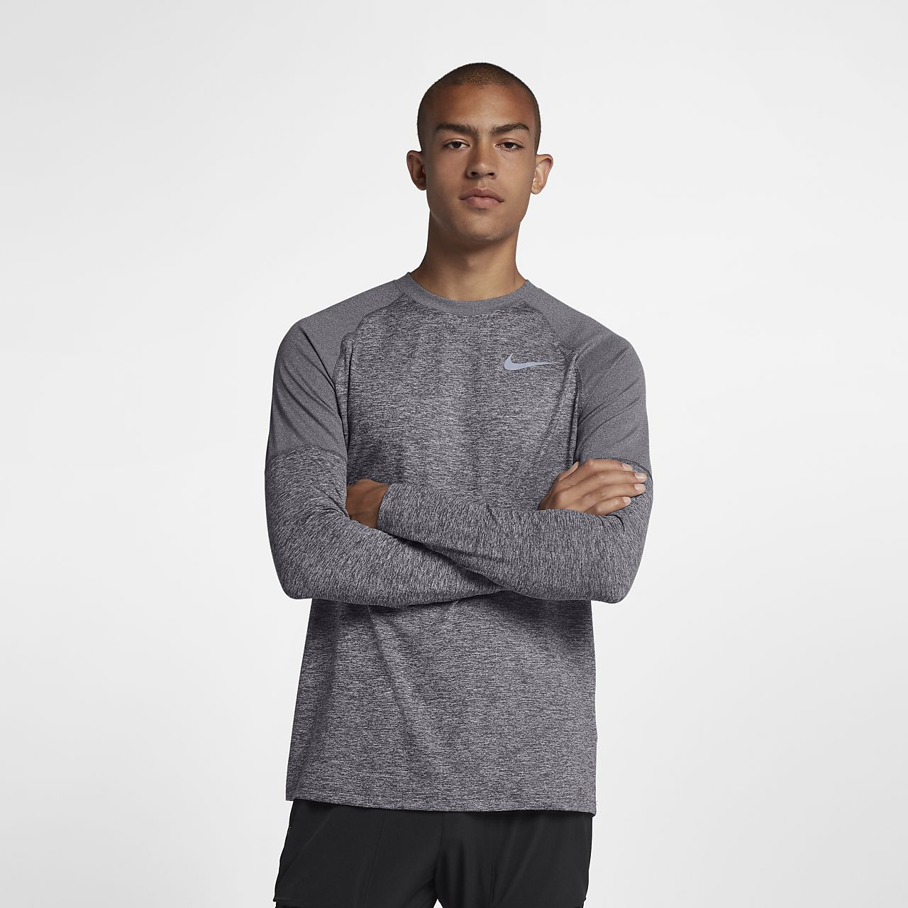 Prenda para la parte superior de running para hombre Nike Element