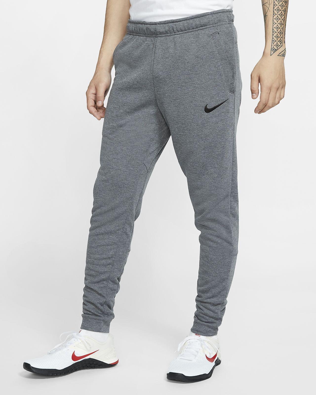 Pánské zúžené flísové tréninkové kalhoty Nike Dri-FIT