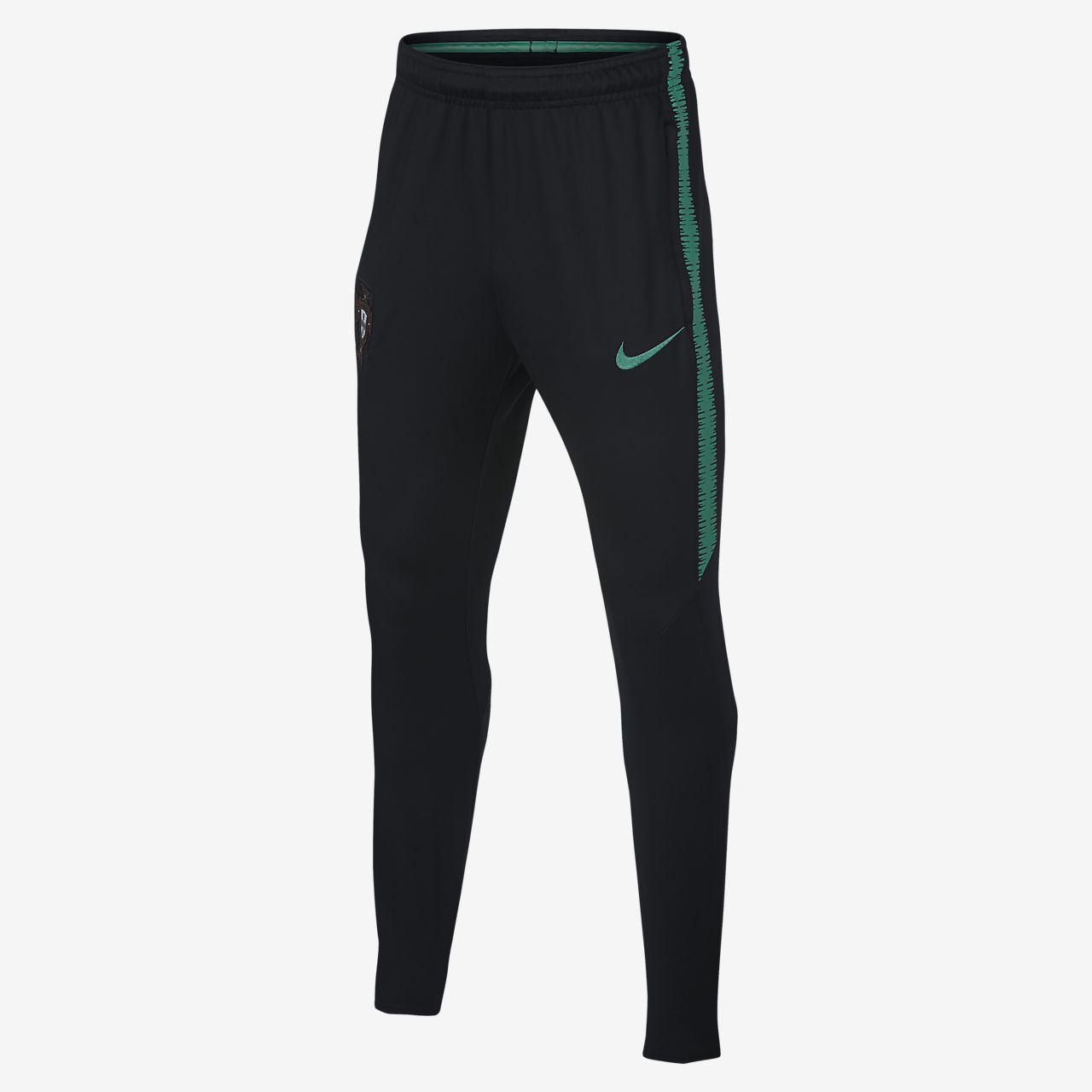 Pantalones de fútbol para niños talla grande Portugal Dri-FIT Squad