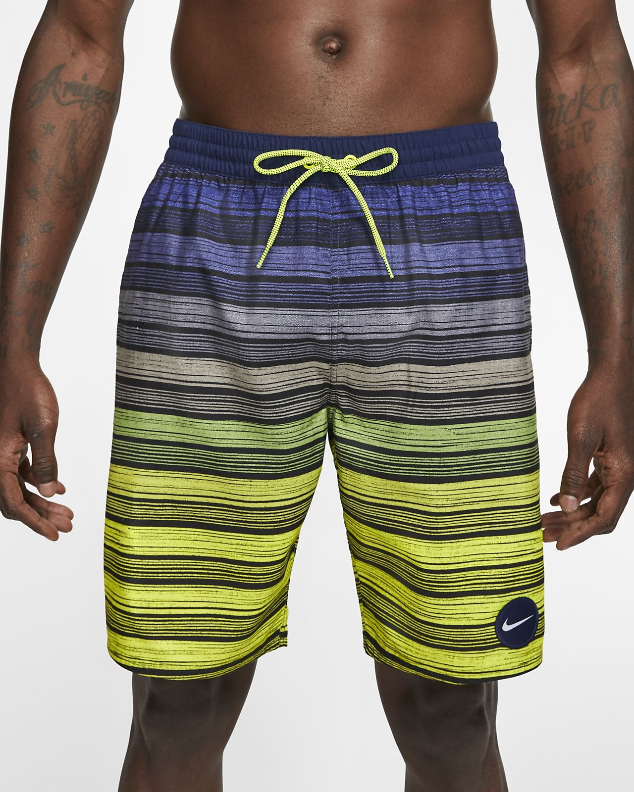 "Nike 6:1 Stripe Breaker Men's 9"" Swim Trunks"