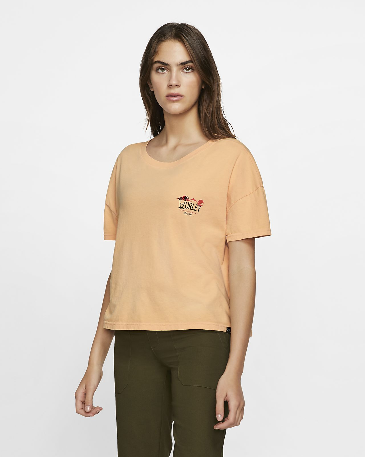 Hurley Mirari Flouncy Women's T-Shirt