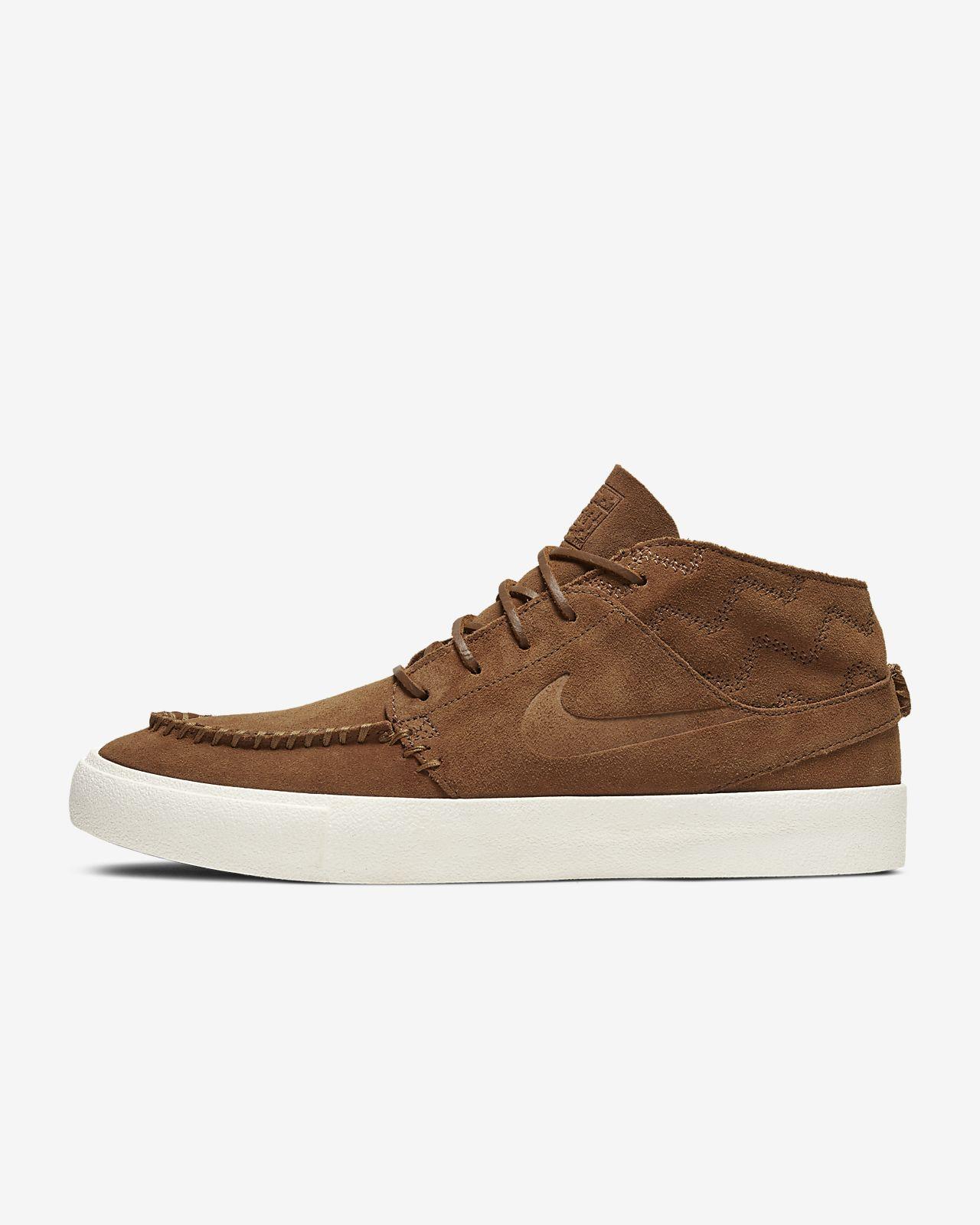 Nike Zoom Janoski Mid RM Crafted 男/女滑板鞋