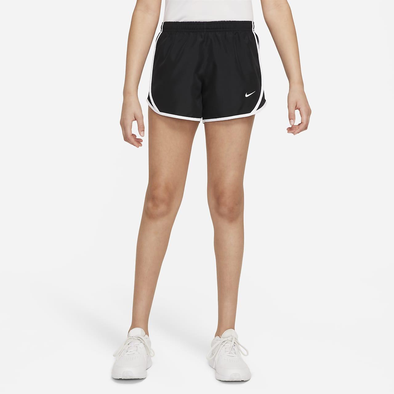 Nike Dry Tempo Big Kids' Running Shorts Black/White