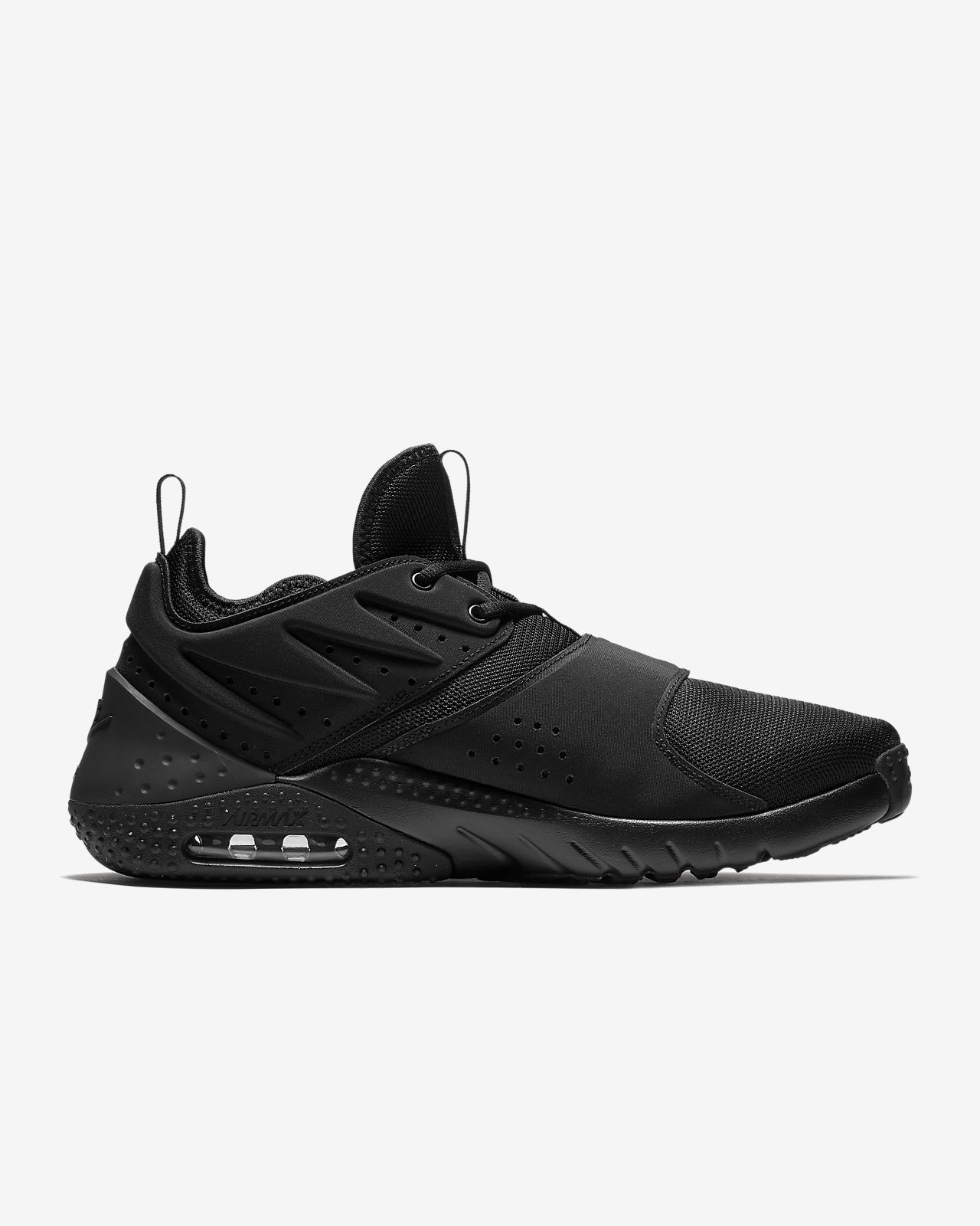 Nike Performance AIR MAX TRAINER 1 - Sports shoes - black/white/red blaze cTr8P