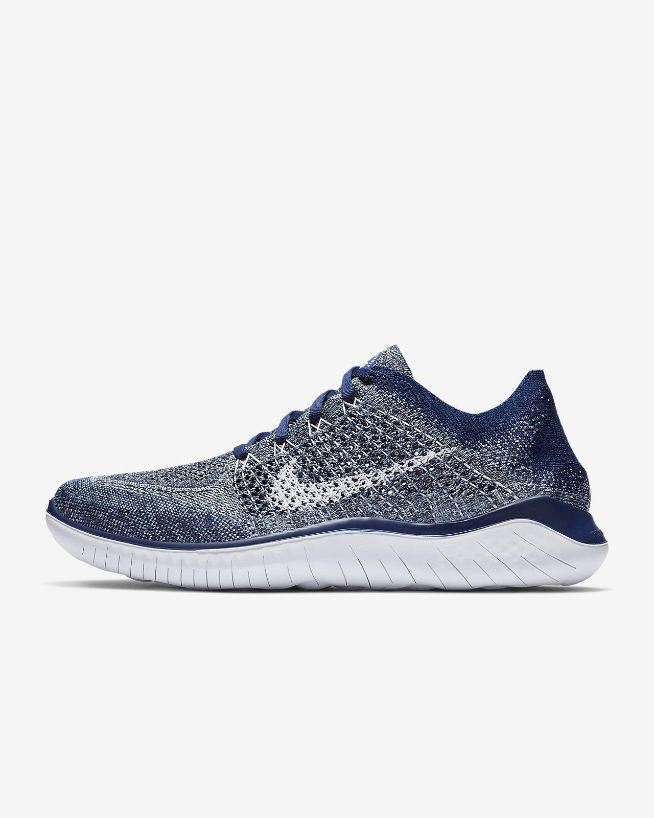 รองเท้าวิ่งผู้ชาย Nike Free RN Flyknit 2018