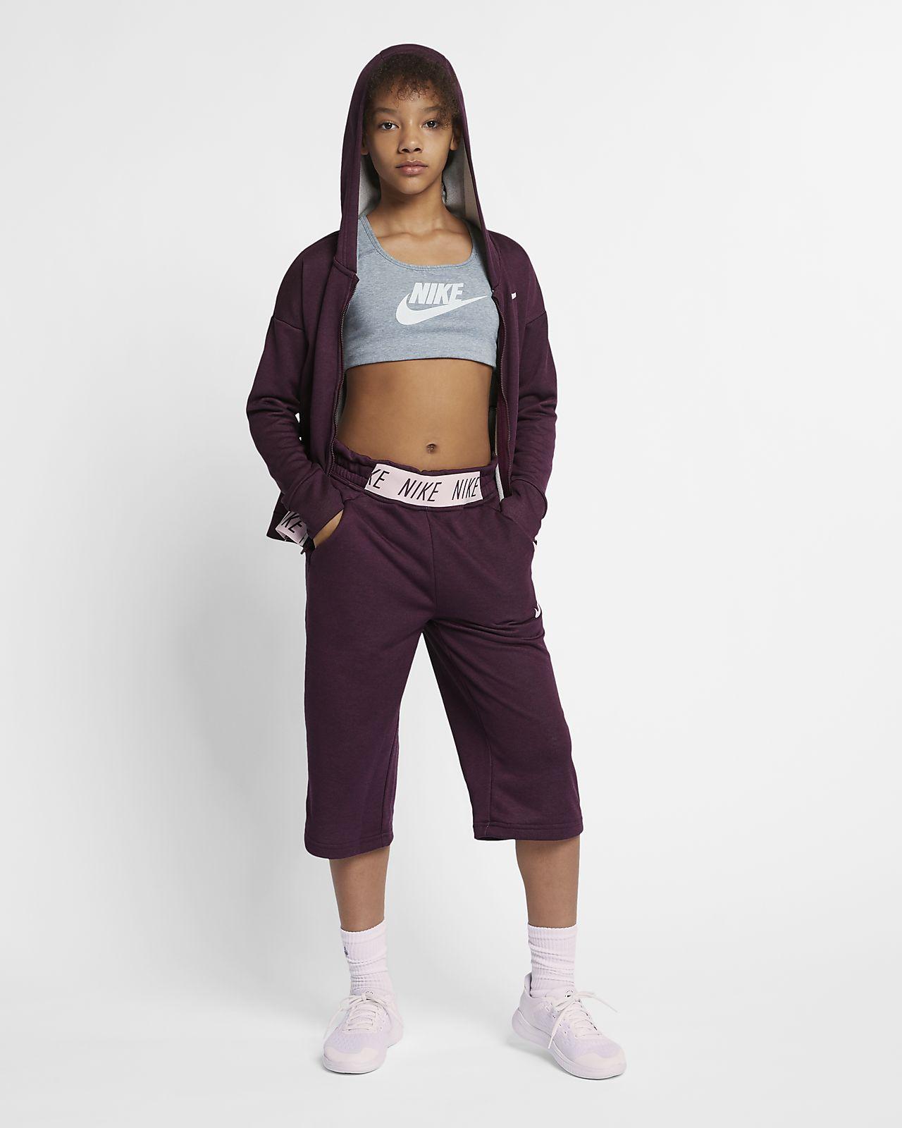 3503e2388 Nike Older Kids' (Girls') Full-Zip Training Hoodie. Nike.com IE
