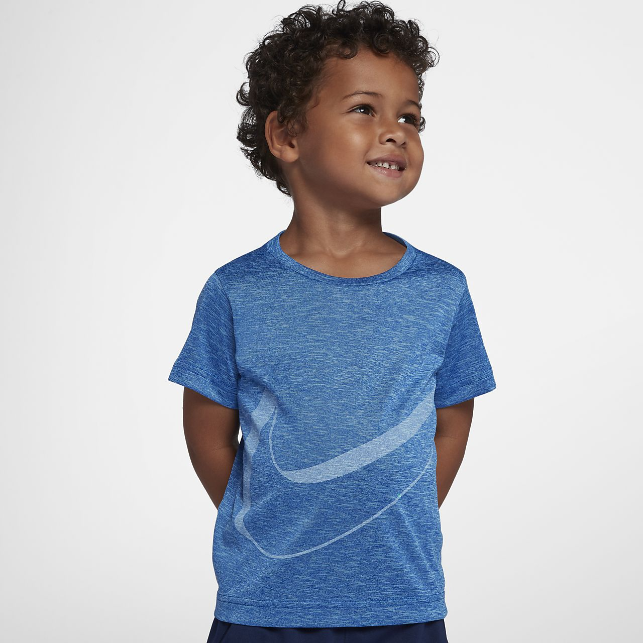 Nike Breathe-T-shirt til små børn