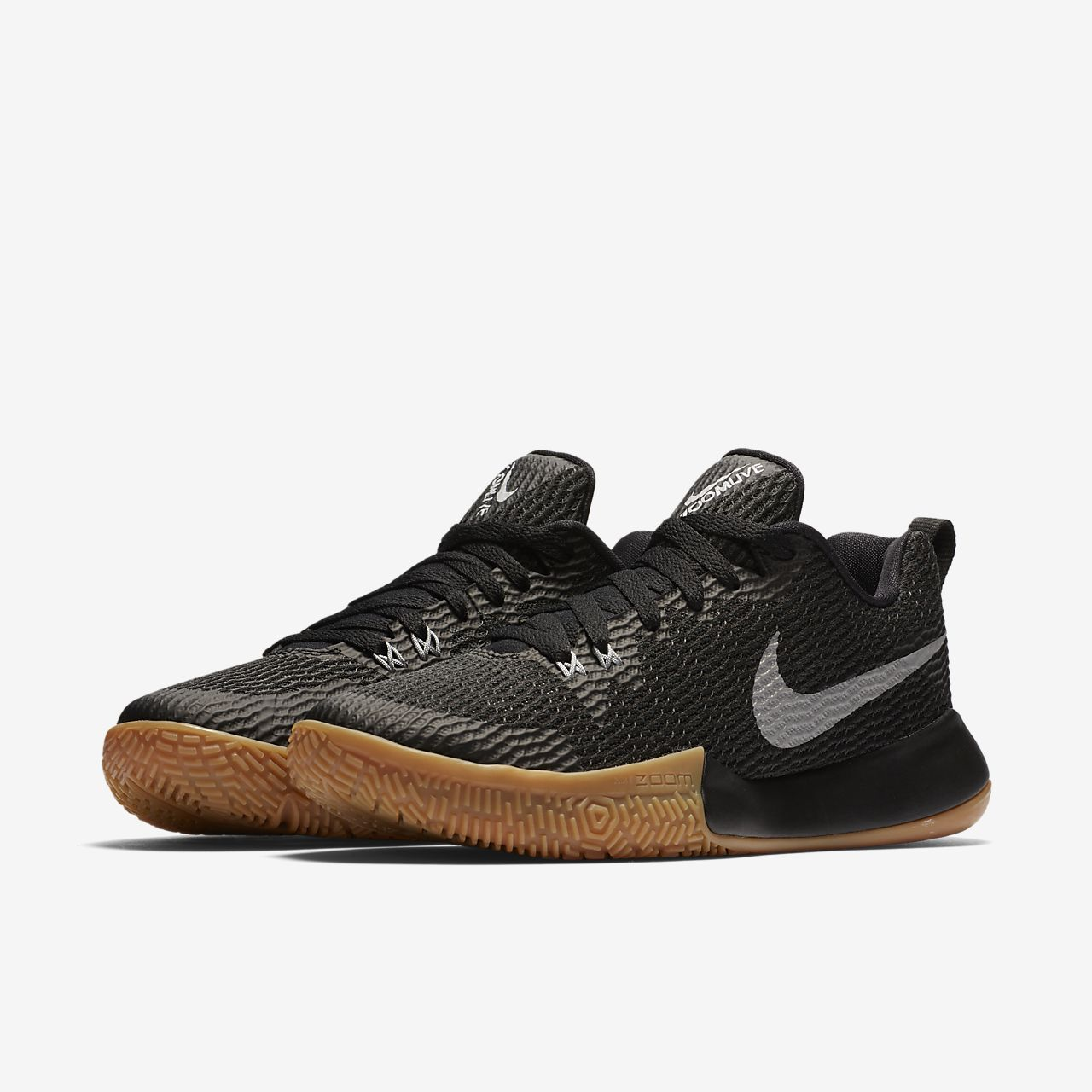 Nike Performance ZOOM LIVE II - Basketball shoes - black/reflect silver/anthracite eR9tOHU1