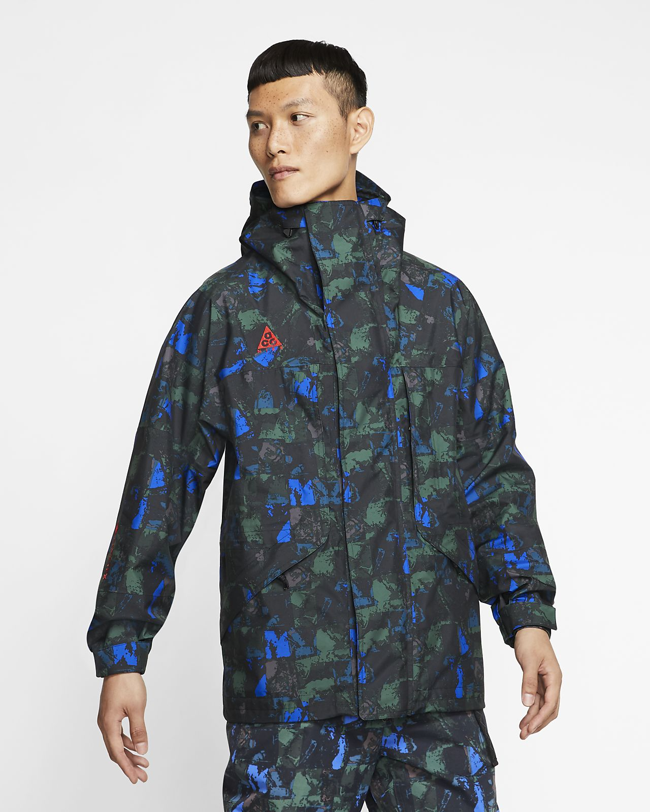 Pánská bunda Nike ACG GORE-TEX s celoplošným potiskem