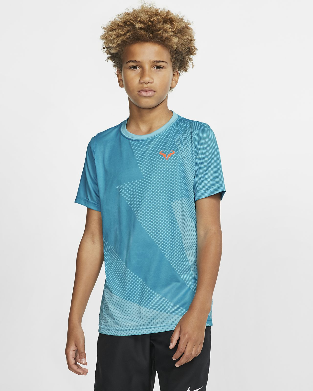 Rafa-Tennis-T-shirt til store børn (drenge)