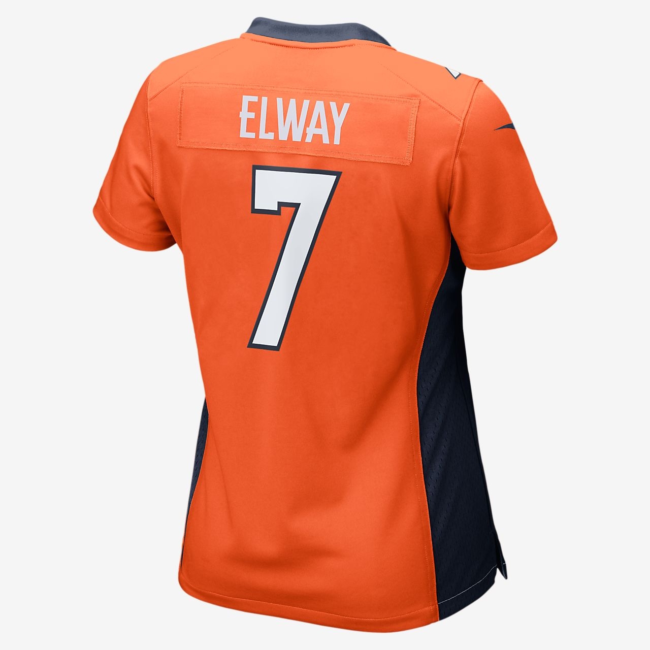 56e347c812dd8 ... NFL Denver Broncos (John Elway) Women's Football Home Game Jersey