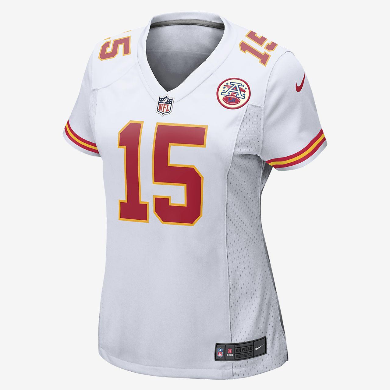 NFL Kansas City Chiefs (Patrick Mahomes) Women's Game Football Jersey