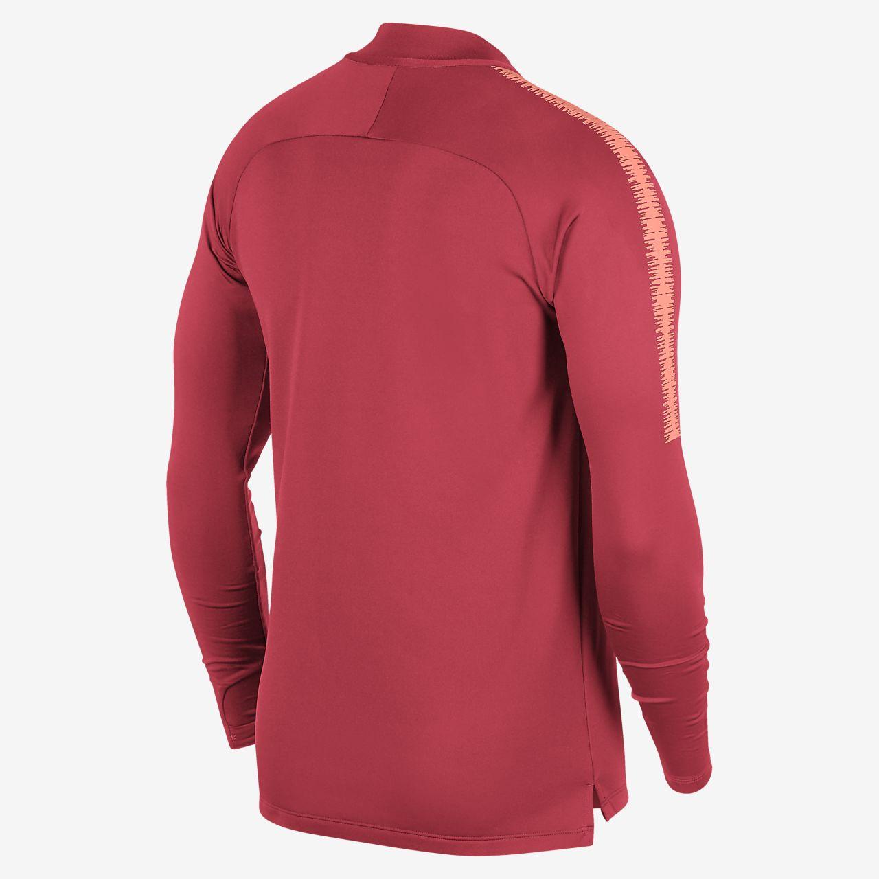 6542dc9f121 FC Barcelona Dri-FIT Squad Drill Men s Long Sleeve Soccer Top. Nike.com