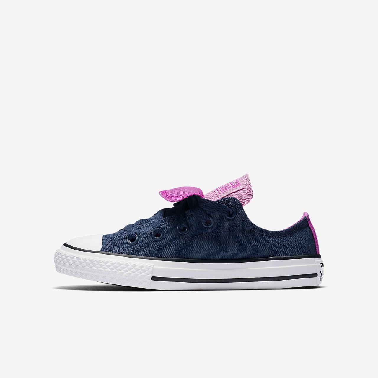 Converse Chuck Taylor All Star Double Tongue Little/Big Kids' Shoe