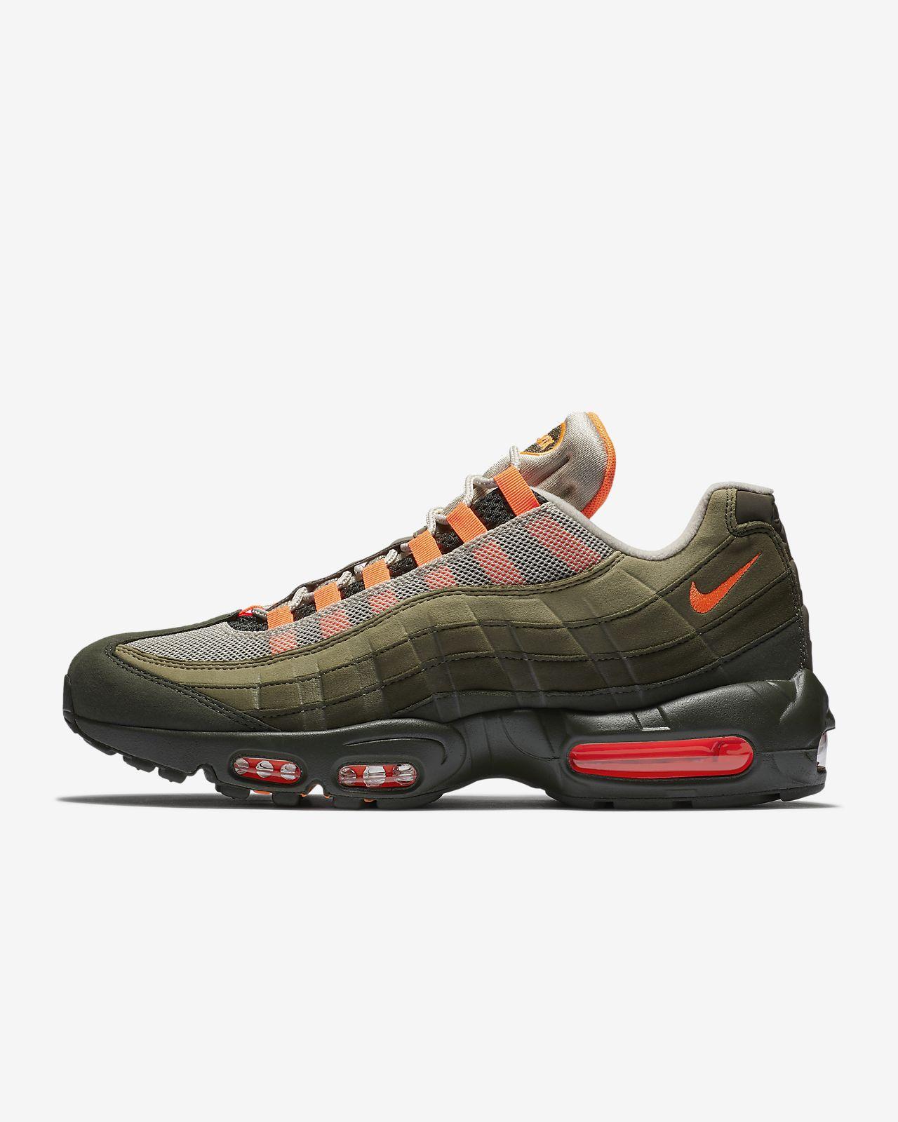 sports shoes 9abb0 e37ee closeout nike air max 95 stussy marron argent 5b9ab e607e