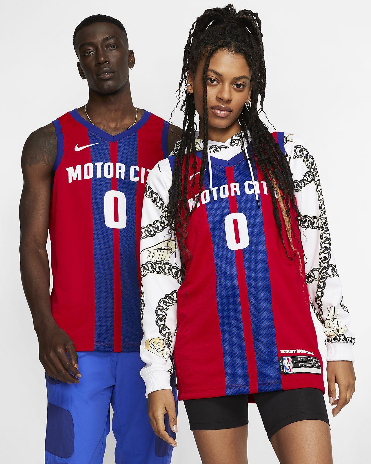 Maglia Andre Drummond Pistons – City Edition Swingman Nike NBA