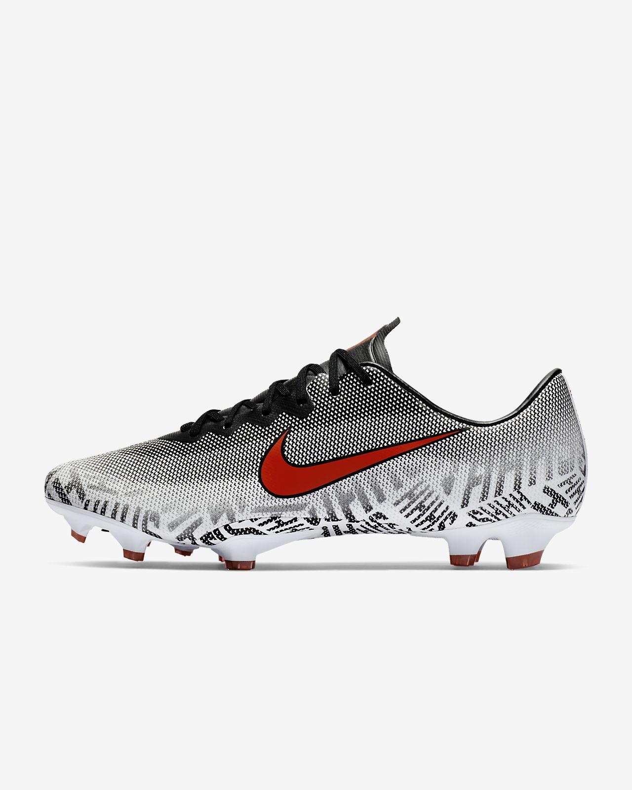 Calzado de fútbol para terreno firme para hombre Nike Mercurial Vapor XII Pro Neymar Jr