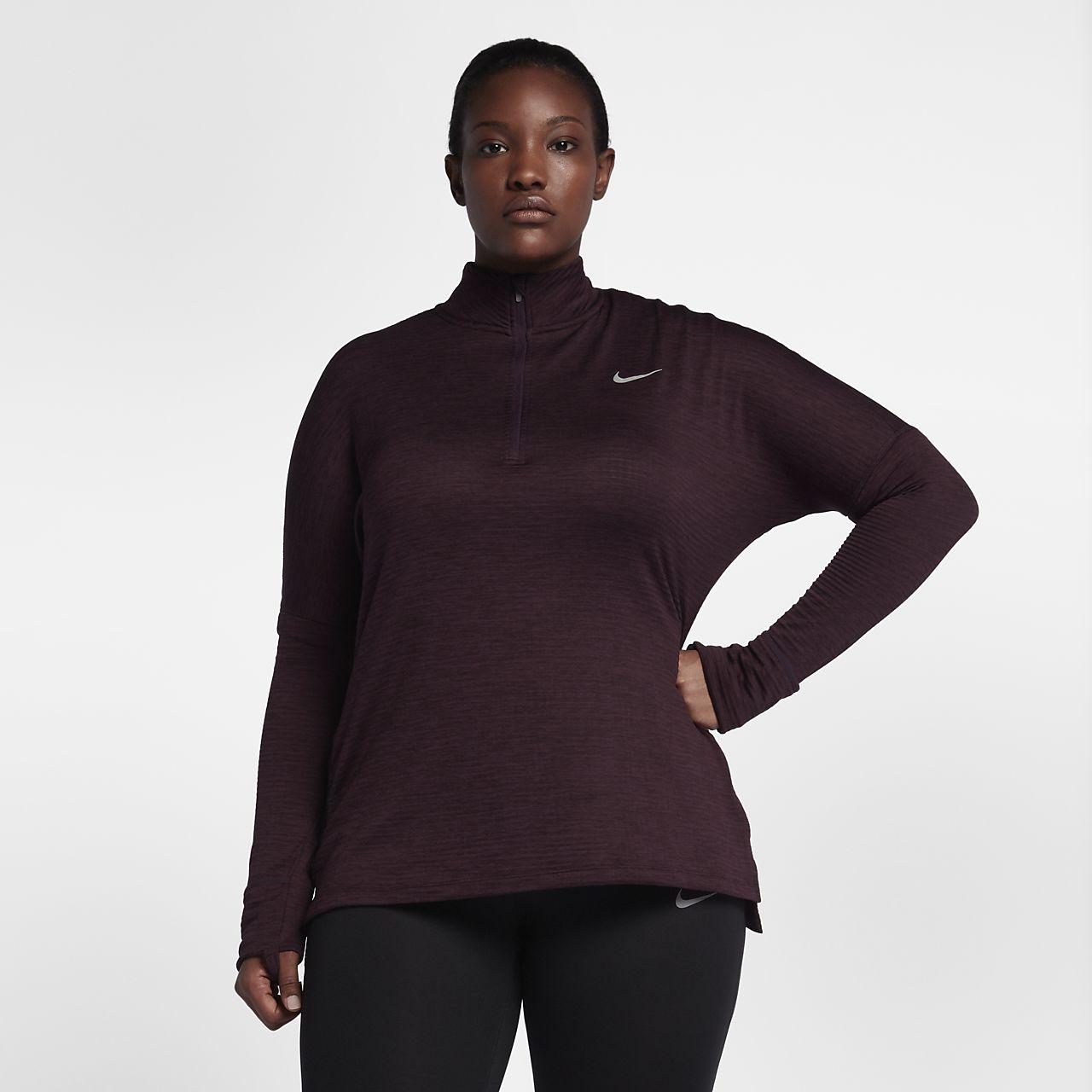 ... Nike Sphere Element Women's Long-Sleeve Running Top (Plus Size)
