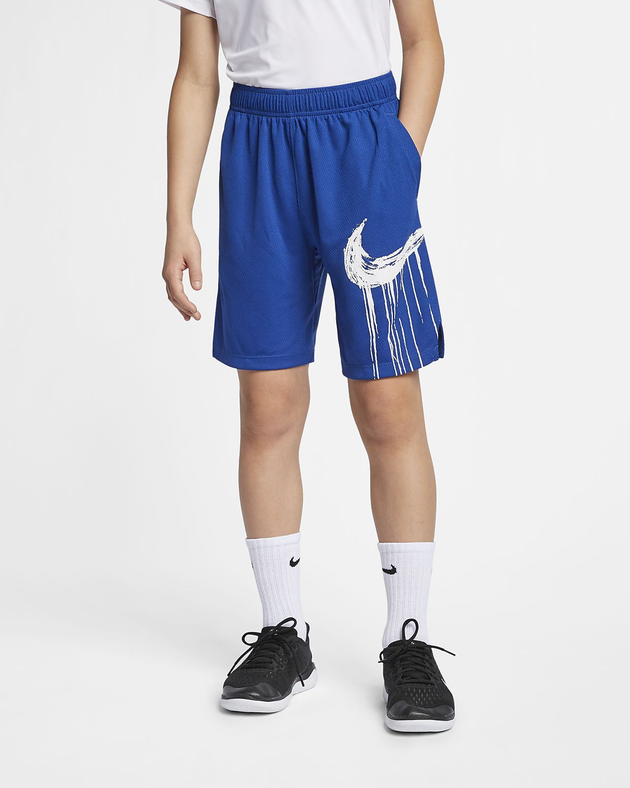 Nike Dri-FIT Older Kids' (Boys') Graphic Training Shorts