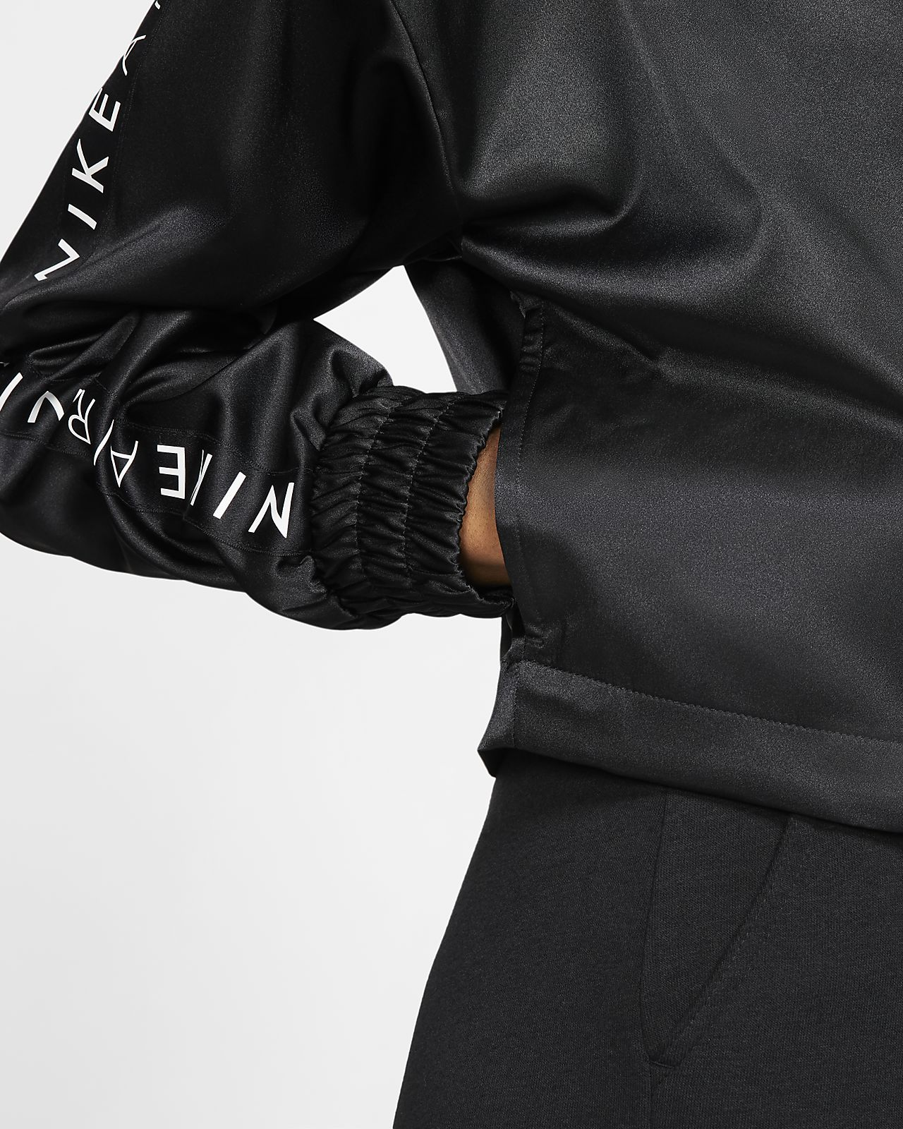 5b3d43c06 Nike Air Women's Satin Track Jacket