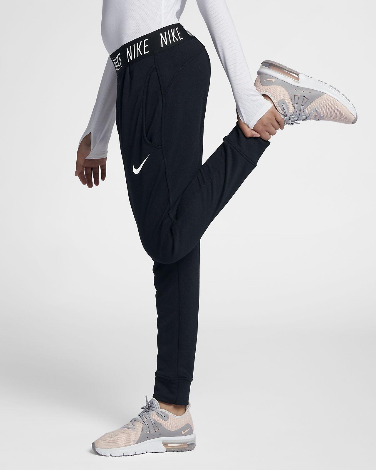 Pantalones de entrenamiento para niñas talla grande Nike Dri-FIT Core Studio 378c074356878