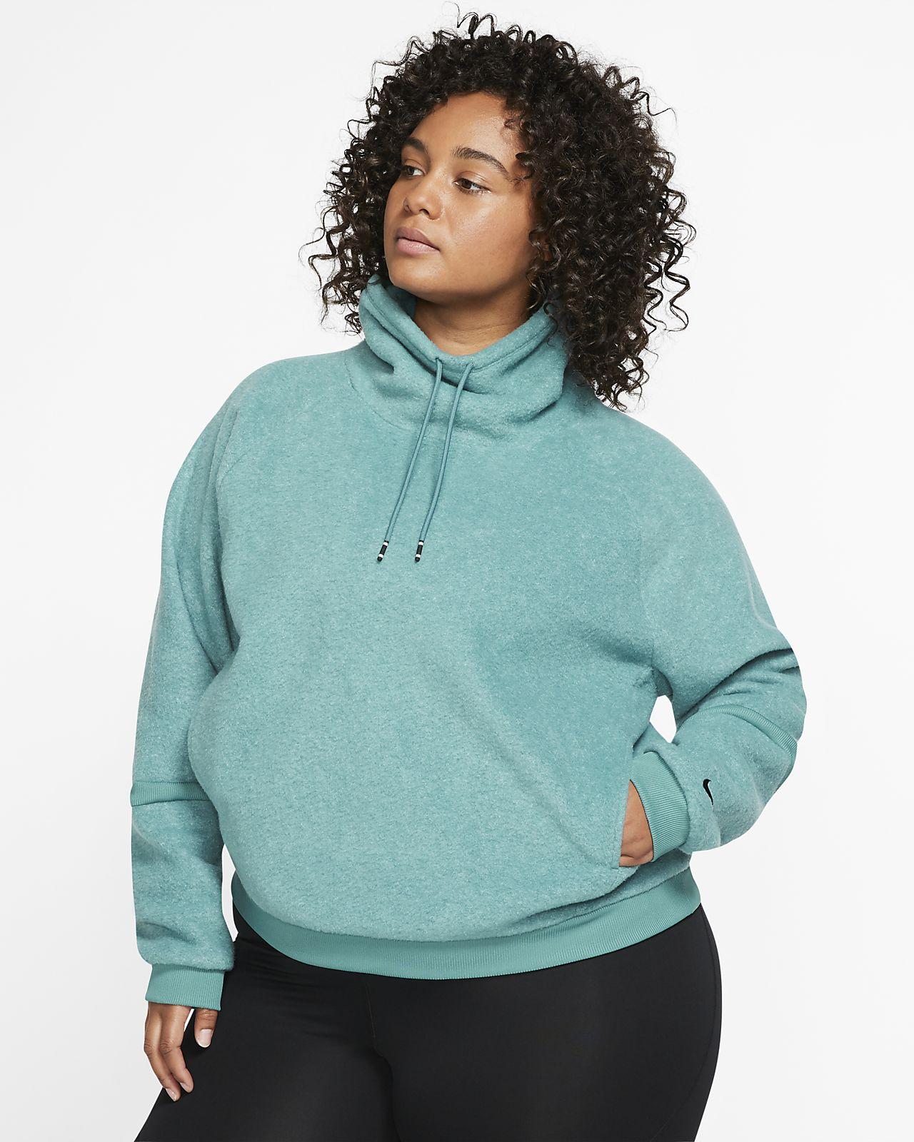 Nike Therma Women's Fleece Long Sleeve Training Top (Plus Size)