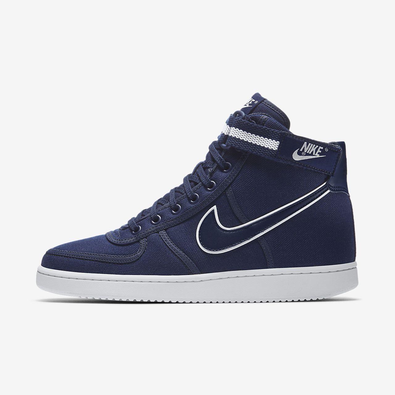 Nike Vandal High Supreme Men's Lifestyle Shoes Black/White/Grey zK1327O