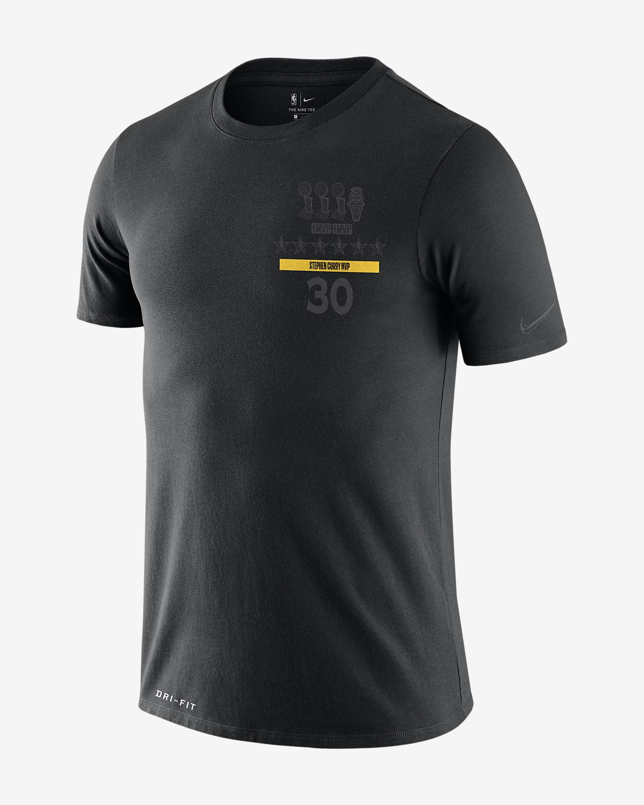 Tee-shirt NBA Stephen Curry Nike Dri-FIT « MVP » pour Homme