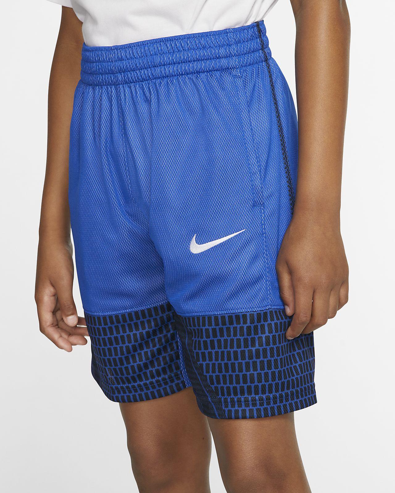 Nike Boys' Printed Basketball Shorts
