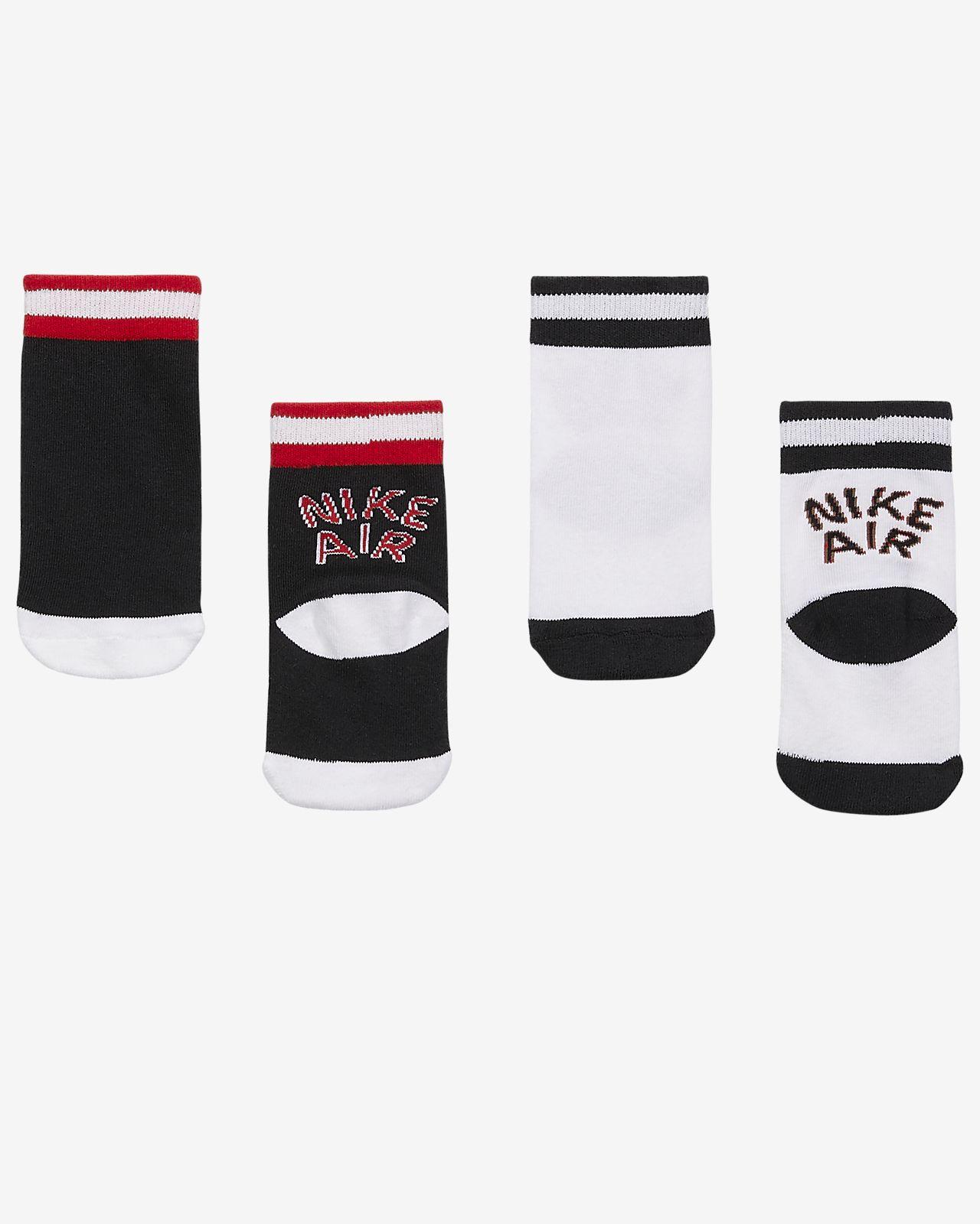 Nike Air Little Kids' Cushioned Crew Socks (2 Pairs)