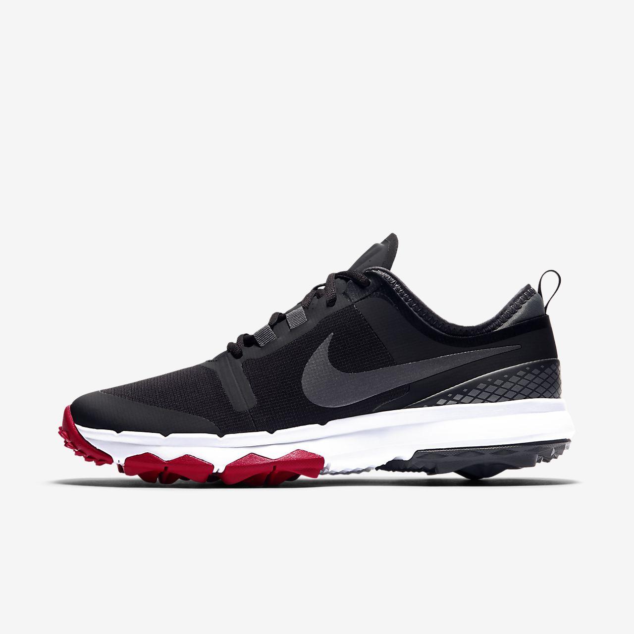 Nike Golf Fi Impact 2 - Black/Cool Grey/White/Anthracite/Volt Golf Shoes